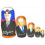 Матрешка. Президенты, известные личности (12)