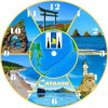 Часы на магнитах Сахалин