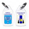 Брелоки - гербы городов Сахалинской области
