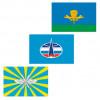 Флаги армии и флота ВС РФ