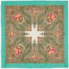 Шерстяные платки без бахромы 89 см, шарфы