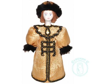 Кукла. Парень в золотом