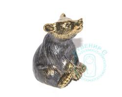 Колокольчик Медведь сидящий