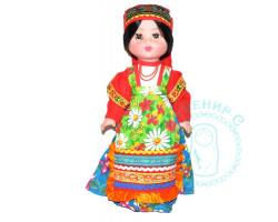 Кукла в русском костюме 1