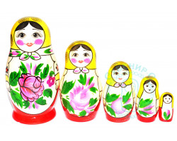 Матрешка Семеновская 5-ти кукольная