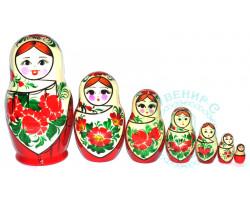 Матрешка Сударушка 7 кукол