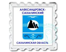 Магнит Герб Александровск-Сахалинск. Старый