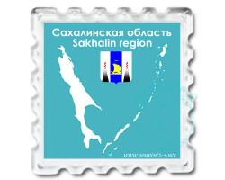 Магнит Карта Сахалинской области 3