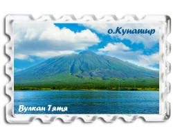 Магнит о.Кунашир Вулкан Тятя лето