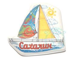 Магнит керамический Кораблик Сахалин