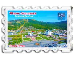 Магнит Южно-Сахалинск Площадь Победы лето BIG