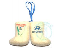 Пара валенок подвеска авто Сахалин-Hyundai