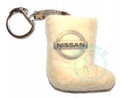 Валенок-брелок авто Nissan