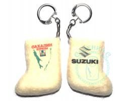 Валенок-брелок авто Сахалин-Suzuki