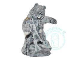Медведь в ярости с о.Сахалин мрамор.кр.