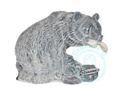 Медведь большой мрамор.кр.