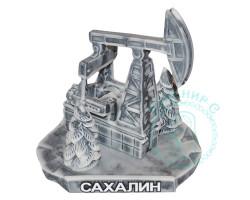 Нефтяная качалка с елочками мрамор.кр.