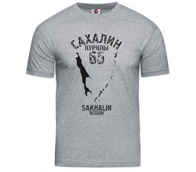 Футболка Сахалин-Курилы-65 / цвета в ассорт.