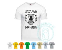 Футболка Сахалин-Мишка / цвета в ассорт.