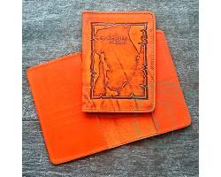 Обложка на паспорт Sakhalin region / рыжий2