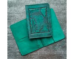 Обложка на паспорт Sakhalin region / зеленый2