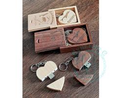 Флешка Сердце в коробке Сахалин 16Гб