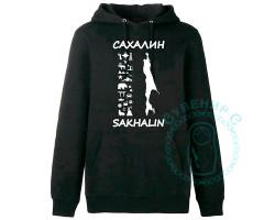 Свитшот Сахалин-Курилы-65 красный