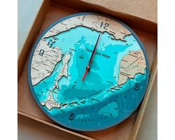 Часы Сахалинская область D 30см / 3см
