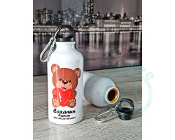 Фляга Сахалин-Курилы Мишка 700мл