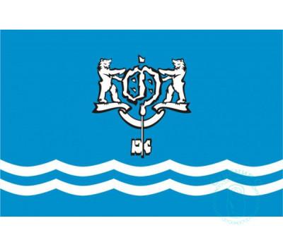 Флаг Южно-Сахалинска 12х18