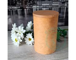 Экоконтейнер ж/б 17,5х10х10 - крышка цвета мед