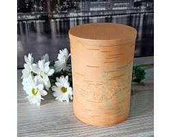 Экоконтейнер ж/б 17,5х12х12 - крышка цвета мед