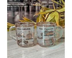 Кружка чайная стекло Южно-Сахалинск 250 мл