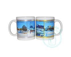 Кружка чайная керамическая Южно-Сахалинск зима