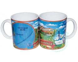 Кружка чайная керамическая Южно-Сахалинск