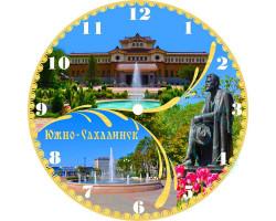 Часы-магнит D 10 Южно-Сахалинск 3к крм