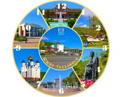 Часы-магнит D 10 Южно-Сахалинск лето 7к