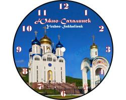 Часы-магнит D 10 Южно-Сахалинск Собор