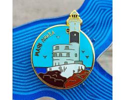 Значок Сахалин маяк Анива RD