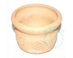 Кашпо керамика Сахалин 1