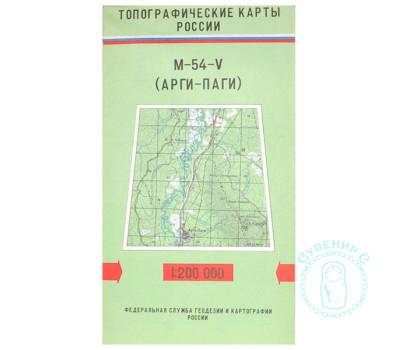 Карта Арги-Паги