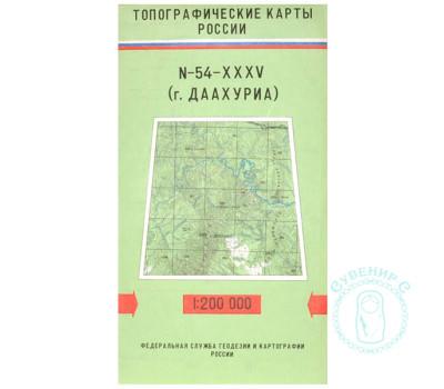 Карта г. Даахуриа