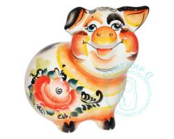 Свинья Наташа цвет 9 см