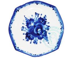Набор тарелок Паутинка гжель 6 шт
