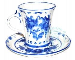 Чайная пара Катерина гжель