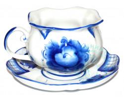 Чайная пара Тюльпан гжель