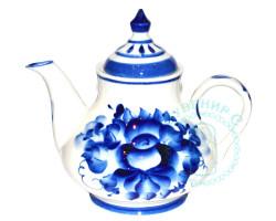 Чайник Сервизный гжель