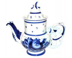 Чайник Голубка гжель