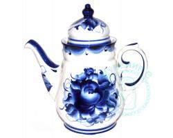 Чайник Чародейка гжель
