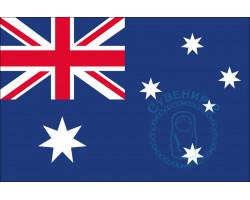Флаг Австралии 12х18